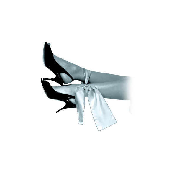 Pipedream - Fetish Fantasy Limited Edition Silk Ties (Grey) - PleasureHobby