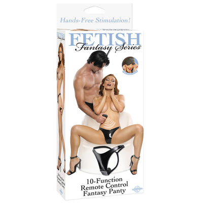 Pipedream - Fetish Fantasy Series 10-Function Remote Control Fantasy Panty Lingerie (Vibration) Non Rechargeable PleasureHobby