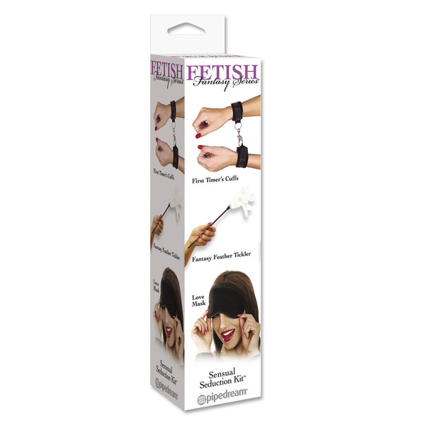 Pipedream - Fetish Fantasy Series Sensual Seduction BDSM Kit - PleasureHobby
