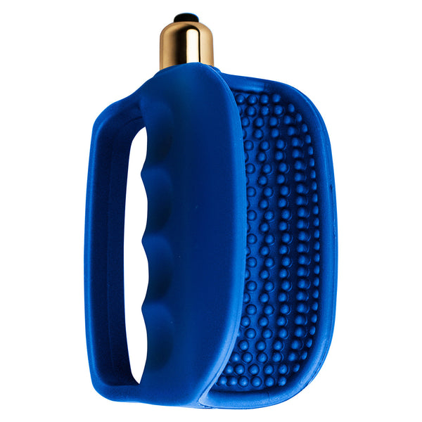 RocksOff - 7 Speed Hand-Solo Masturbator Stroker (Blue) - PleasureHobby Singapore