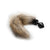 Shots - Ouch! Fox Tail Buttplug Bulk (Black)