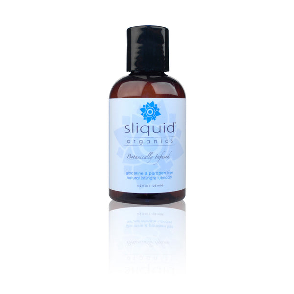 Sliquid - Botanically Infused Natural Intimate Lubricant 125ml - PleasureHobby