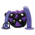 Tantus - Bend Over Beginner Strap On Harness Kit (Purple)