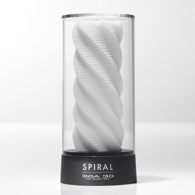 Tenga - 3D Spiral Masturbator - PleasureHobby Singapore