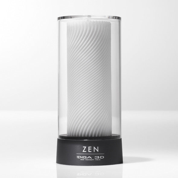 Tenga - 3D Zen Masturbator - PleasureHobby Singapore