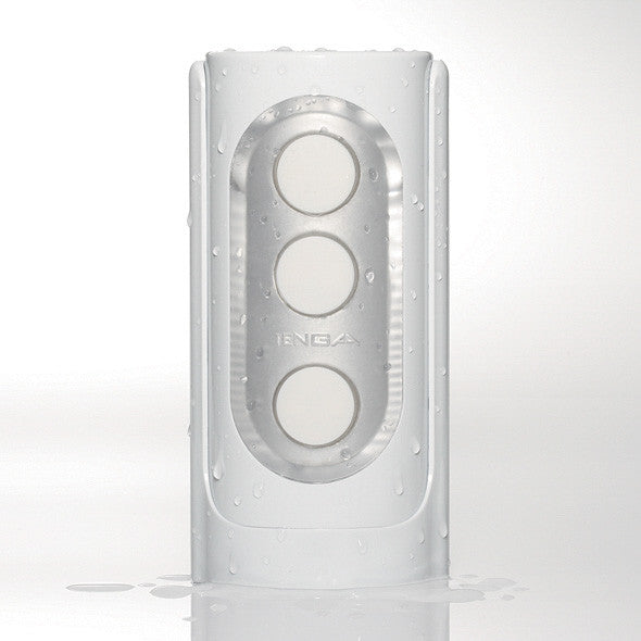 Tenga - Flip Hole Masturbator (White) - PleasureHobby