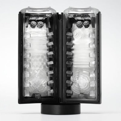 Tenga - Flip Lite U.S. Masturbator (Solid Black) - PleasureHobby