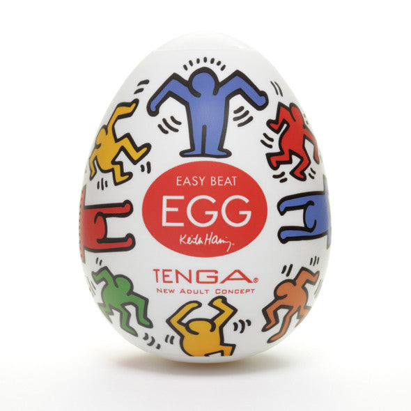 Tenga - Keith Haring Egg Dance Masturbator - PleasureHobby Singapore