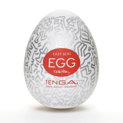 Tenga - Keith Haring Egg Party Masturbator - PleasureHobby Singapore
