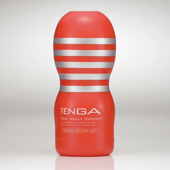 Tenga - Original Vacuum Cup Masturbator - PleasureHobby Singapore