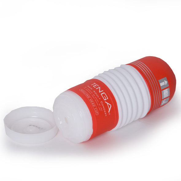 Tenga - Rolling Head Cup Masturbator - PleasureHobby Singapore