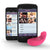 Vibease - iPhone & Android Vibrator (Pink)