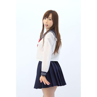A&T - AKIBA Innocent Long Sleeve Sailor Costume Suit (Multi Colour) | CherryAffairs Singapore