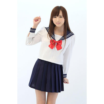 A&T - AKIBA Innocent Long Sleeve Sailor Costume Suit (Multi Colour) Costumes PleasureHobby