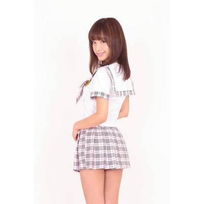A&T - Bliss School Uniform Costume (Multi Colour) | CherryAffairs Singapore