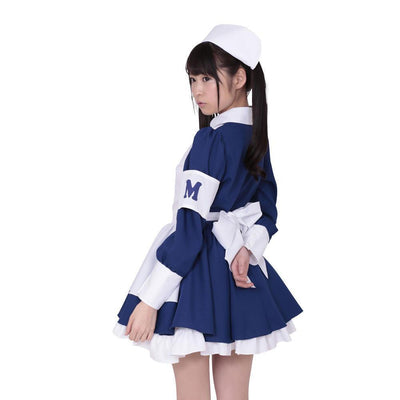 A&T - Menthol Nurse Costume (Multi Colour) | CherryAffairs Singapore