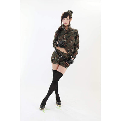 A&T - Metal Gear Army Costume (Multi Colour) | CherryAffairs Singapore