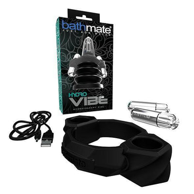 Bathmate - Hydro Vibe Hydrotherapy Ring Penis Pump Accessory (Silver) Accessories PleasureHobby