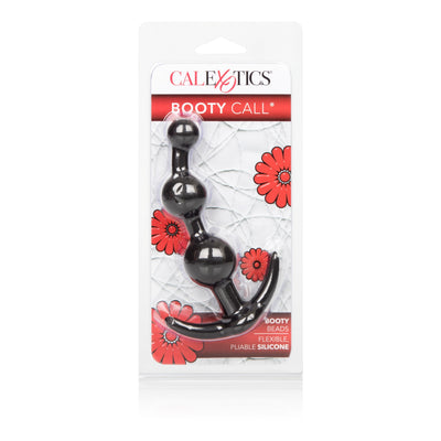 California Exotics - Booty Call Booty Anal Beads (Black) | CherryAffairs Singapore