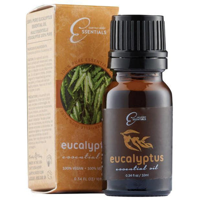 Earthly Body - 100% Pure Essential Oils Eucalyptus 10 ml Essential Oil PleasureHobby