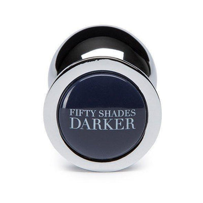 Fifty Shades Darker - Beyond Erotic Steel Butt Plug Metal Anal Plug (Non Vibration) - CherryAffairs Singapore