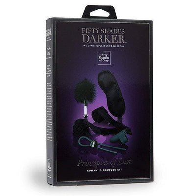 Fifty Shades Darker - Principles of Lust Romance Couples Kit BDSM Set PleasureHobby