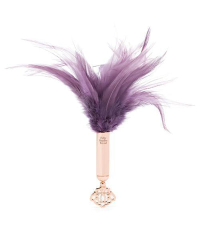 Fifty Shades Freed - Cherished Collection Feather Tickler (Purple) Tickler PleasureHobby