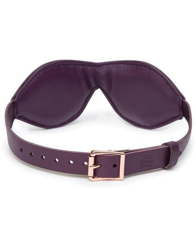 Fifty Shades Freed - Cherished Collection Leather Blindfold (Purple) Mask (Blind) PleasureHobby