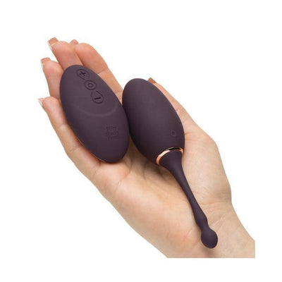 Fifty Shades Freed - I've Got You Rechargeable Remote Control Egg Massager (Grey) Wireless Remote Control Egg (Vibration) Rechargeable - CherryAffairs Singapore