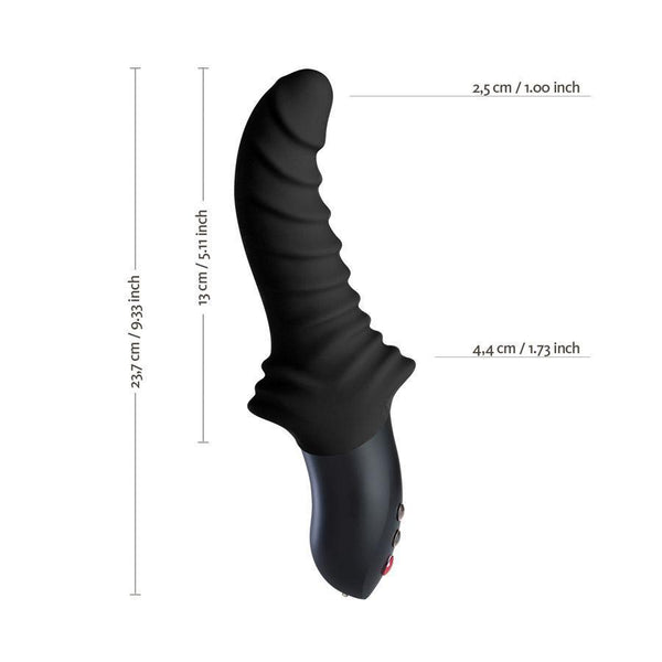 Fun Factory - Stronic Drei G-Spot Vibrator (Black) G Spot Dildo (Vibration) Rechargeable Singapore