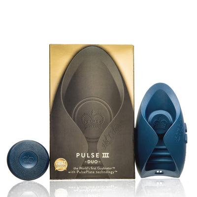 Hot Octopuss - Pulse III Duo Couple & Solo Vibrator Remote Control Couple's Massager (Vibration) Rechargeable - CherryAffairs Singapore
