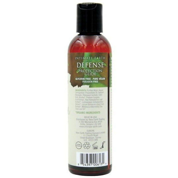 Intimate Earth - Defense Anti-Bacterial Lubricant 240 ml (Lube) Lube (Water Based) - CherryAffairs Singapore