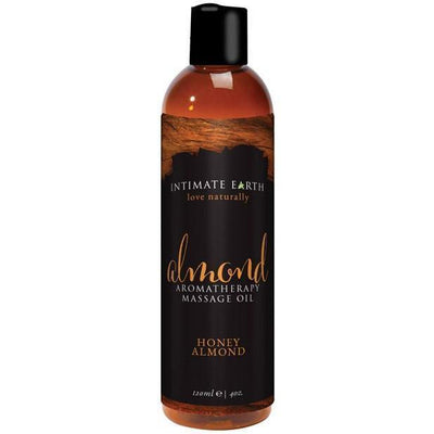 Intimate Earth - Massage Oil Honey Almond 120 ml (Brown) Massage Oil PleasureHobby
