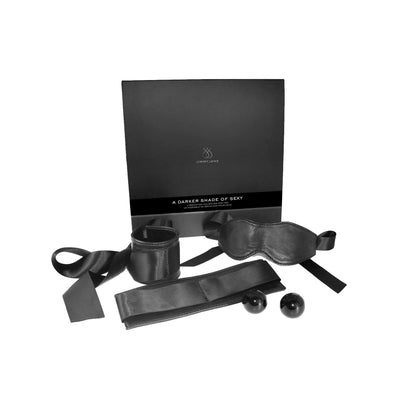 JimmyJane - A Darker Shade of Sexy BDSM Kit (Black) | CherryAffairs Singapore