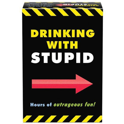 Kheper Games - Drinking with Stupid Drinking Game (Black) Games PleasureHobby