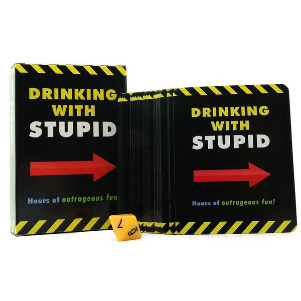 Kheper Games - Drinking with Stupid Drinking Game (Black) Games Singapore