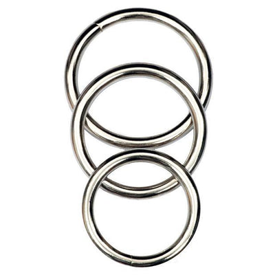 Master Series - Trine Steel C-Ring Collection | CherryAffairs Singapore