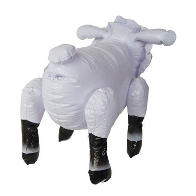 Naughty Originals - Inflatable Celebrity Sheep Lady Bah Bah (White) | CherryAffairs Singapore