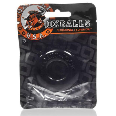 Oxballs - Atomic Jock Do-Nut-2 Cock Ring (Black) | CherryAffairs Singapore
