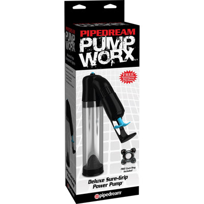 Pipedream - Pump Worx Deluxe Sure-Grip Power Pump Penis Pump (Non Vibration) Singapore