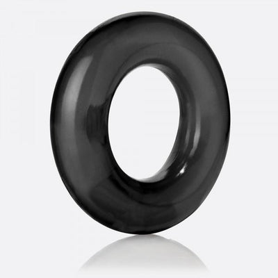 TheScreamingO - RingO Rubber Cock Ring (Black) Rubber Cock Ring (Non Vibration) PleasureHobby