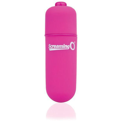 TheScreamingO - Soft Touch Vooom Mini Bullet Vibrator (Pink) Bullet (Vibration) Non Rechargeable Singapore