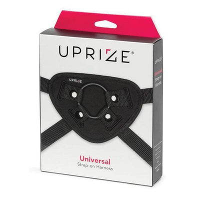 Uprize - Universal Strap-On Harness (Black) Strap On w/o Dildo PleasureHobby