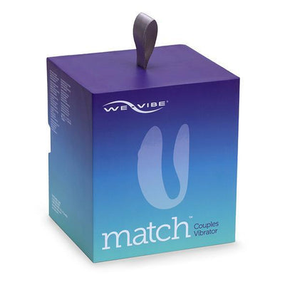 We-Vibe - Match Couple's Vibrator (Blue) Remote Control Couple's Massager (Vibration) Rechargeable Singapore