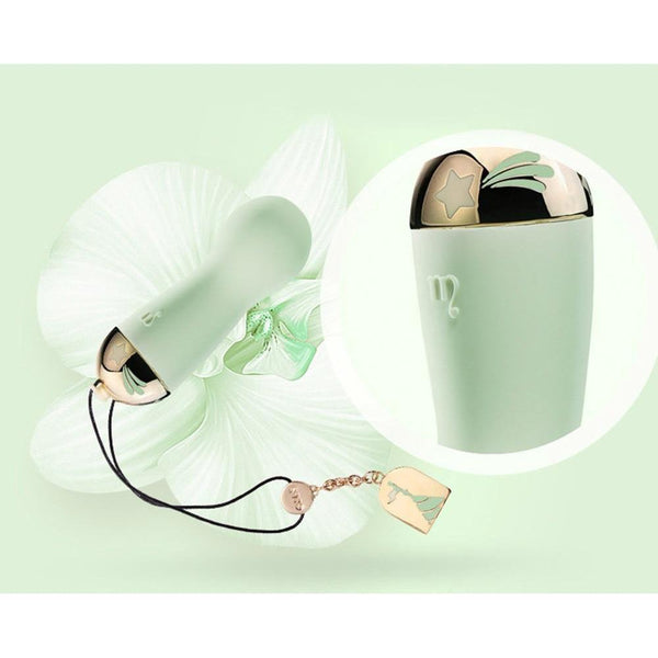 Zalo - Lolita Baby Star Rechargeable Bullet Vibrator (Melon Green) Bullet (Vibration) Rechargeable - CherryAffairs Singapore