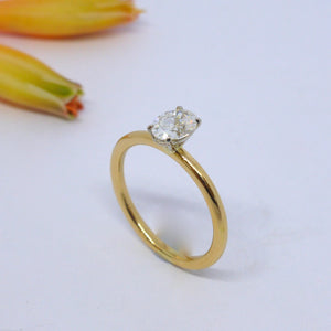 solitaire diamond ring Byron Bay