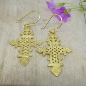 Celtic cross earrings Newrybar