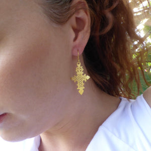 Celtic earring byron bay