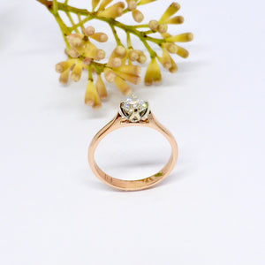 flower engagement ring australia