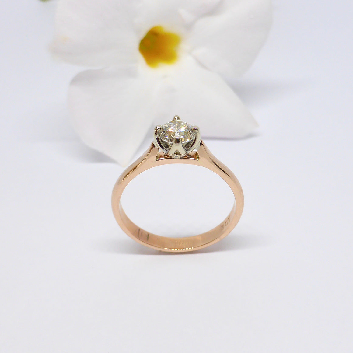 petal engagement ring australia